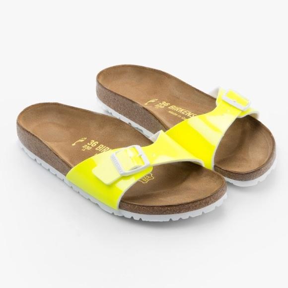 03db1cf59a19 Birkenstock Shoes - Birkenstock Madrid Neon Sandal